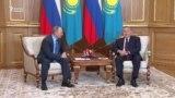 Назарбаев пен Путин Алматыда кездесті