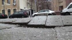 Новые московские тротуары стали разваливаться