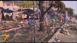 У Каїрі прибирають залишки розігнаного табору демонстрантів