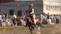 In Northwest Pakistan, Riders Revive Ancient Game Of Neza Bazi