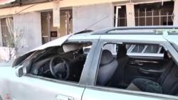 Наслідки обстрілу Степанакерта (Ханкенді) показали на відео