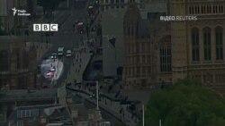 Кадри з камери спостереження і момент затримання підозрілого, який наїхав на перехожих у Лондоні