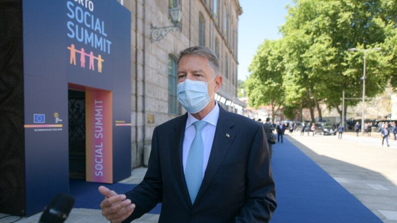 """Declarația de la Porto   Klaus Iohannis: """"Devin prioritare măsurile privind crearea de locuri de muncă"""""""