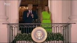 Трамп АҚШда коронавирус билан боғлиқ вазиятни олқишлади ва Байденни Америкага таҳдид ўлароқ тасвирлади