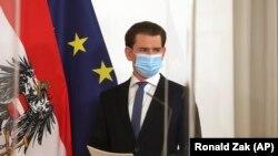 Cancelarul austriac Sebastian Kurz (foto arhivă)