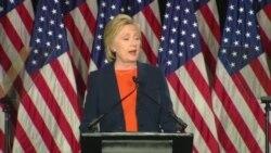 Clinton kritikuje Trumpa zbog 'naklonosti prema tiranima'
