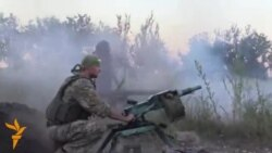 Fighting In Pisky, Eastern Ukraine