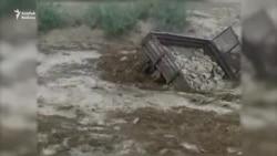 Ahalyň we Balkanyň obalaryny sil aldy