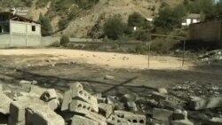 На трассе Душанбе-Худжанд взорвалась автоцистерна со сжиженным газом