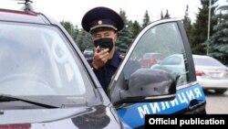 Милиционер в Бишкеке. Иллюстративное фото.