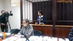 Выступление Анар Мешимбаевой в суде