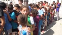 منظمات دولية تهتم باطفال النازحين