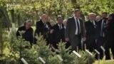 Սերժ Սարգսյնաը հարգանքի տուրք է մատուցել Հայոց ցեղասպանության զոհերի հիշատակին