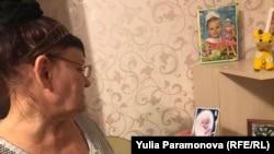 Раиса Шалаева с фотографиями внучки