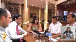 Երիտասարդ կուսակցականների բանավեճը մեկ սեղանի շուրջ