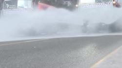 Bakı karantində: Dezinfeksiya və polis yoxlamaları