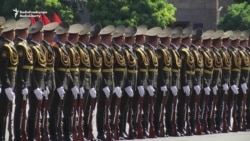 Armenia Marks 25 Years Of Post-Soviet Independence With Parade