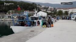 Migranti uplovili u Herceg Novi
