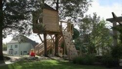 Дом на дереве: для детей или для взрослых?