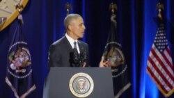 Președintele Barack Obama - ultima conferință de presă la Casa Albă