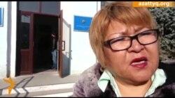 Ботагоз Исаева привела Ермека Тайчибекова в суд