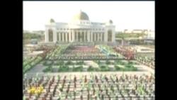 Türkmenistanda prezidentiň doglan güni bellenýär