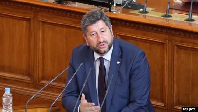 """Христо Иванов, председател на ПГ на """"Демократична България"""""""
