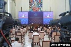 Markaziy saylov kmissiyasi Prezident sayloviga 2021 - yilning 23 - iyulida start bergan edi.