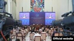 Марказий сайлов комиссияси Президент сайловига старт берди. Тошкент, 2021, 23 июль