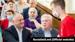 """12 iunie 2021. Vladimir Voronin și Igor Dodon din nou împreună după zece ani de """"război"""""""