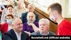 Vladimir Voronin și Igor Dodon din nou împreună, Blocul electoral al Comuniștilor și Socialiștilor, alegeri anticipate 2021,