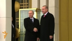Putin Meets Turkish President Erdogan In Ankara