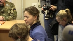 Віра Савченко прийшла на судове засідання над російськими спецпризначенцями (відео)