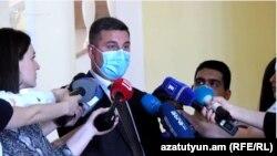 Губернатор Гегаркуникской области Армении Гнел Саносян
