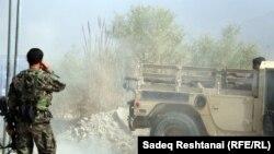 ارغنداب کې افغان ځواکونه د عملیاتو پرمهال