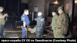 Место убийства Александра Петрова