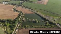 Фекалното езеро на Шумен