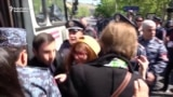 Dozens Detained As Yerevan Protests Continue