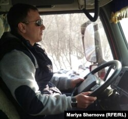 Сергей Хмелев, дальнобойщик