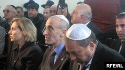 Avidqor Liberman Bakıdakı sinaqoqda