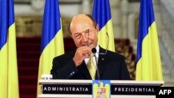 Румыния президенті Траян Бэсеску. Бухарест, 3 шілде 2012 жыл.