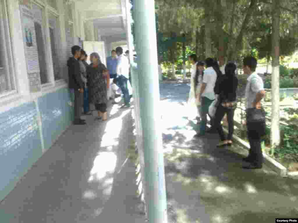 В одном из университетов Ташкента