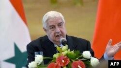 Міністр закордонних справ Сирії Валід аль-Муаллем
