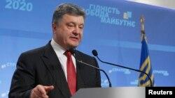 Президент Украины Петр Порошенко на пресс-конференции. Киев, 25 сентября 2014 года.