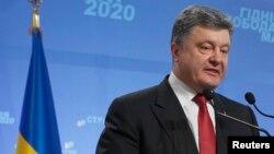 Петр Порошенко на пресс-конференции в Киеве