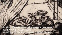 Îngropate de cenzura sovietică: desene inedite de la Auschwitz