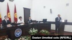Байыша Юсупова представили коллективу Ошской областной администрации. Город Ош, 17 августа 2020 года.