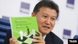 Kirsan Ilyumzhinov has been FIDE president since 1995 (file photo)