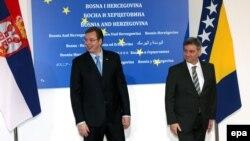 Премиерите на Србија и БиХ.