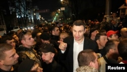 Vitali Klitschko will contest the Kyiv mayoral race.